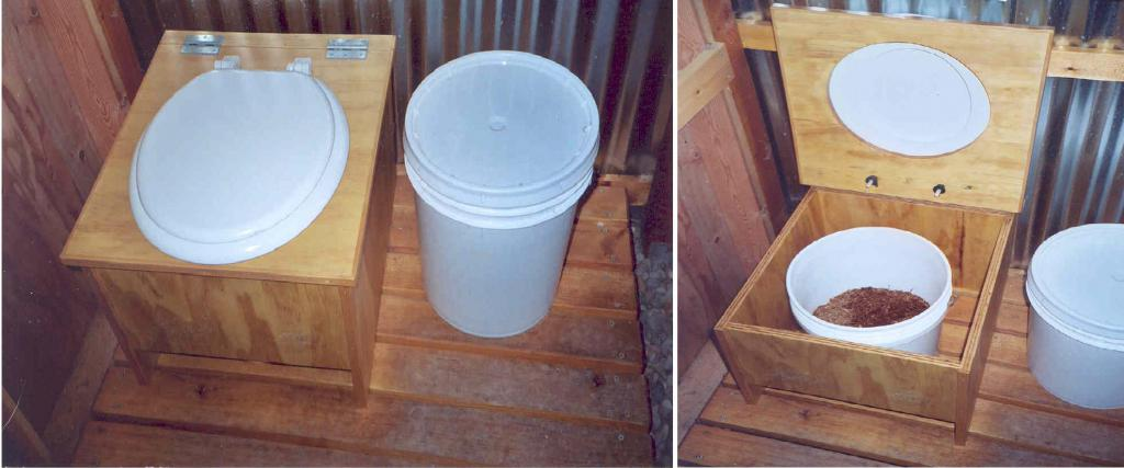 How to make a dry closet in the country with your own hands