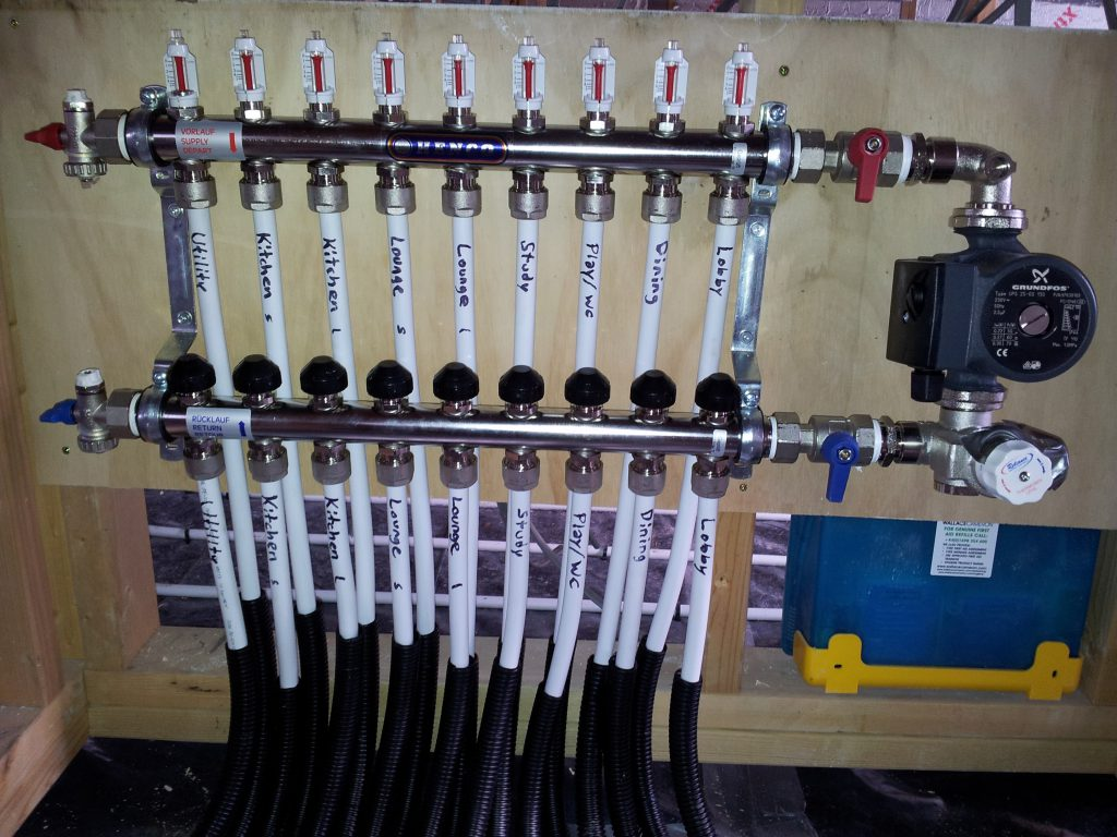Опрессовка системы отопления воздухом какое давление