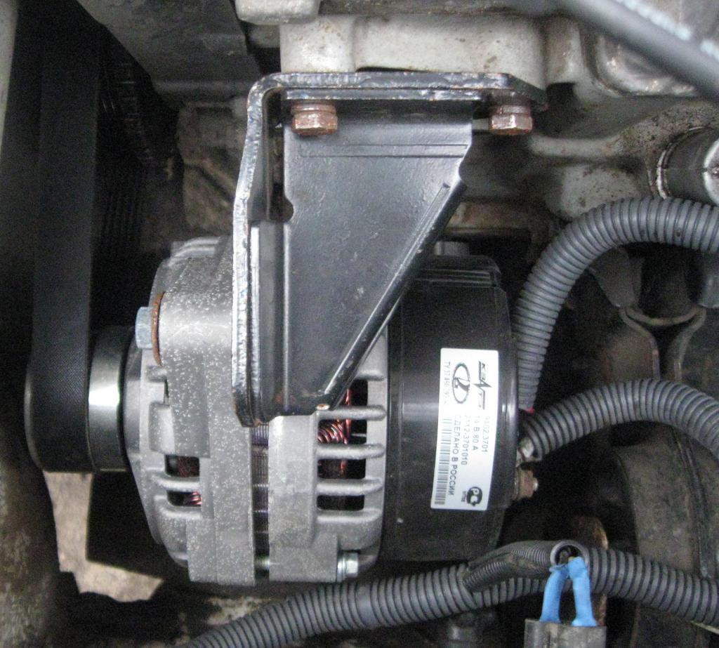 Лампа зарядки ВАЗ-2107