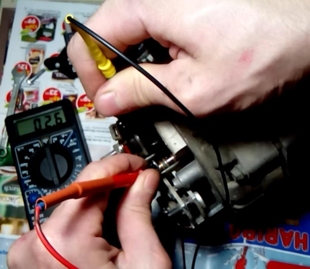 Пропала зарядка ВАЗ-2107