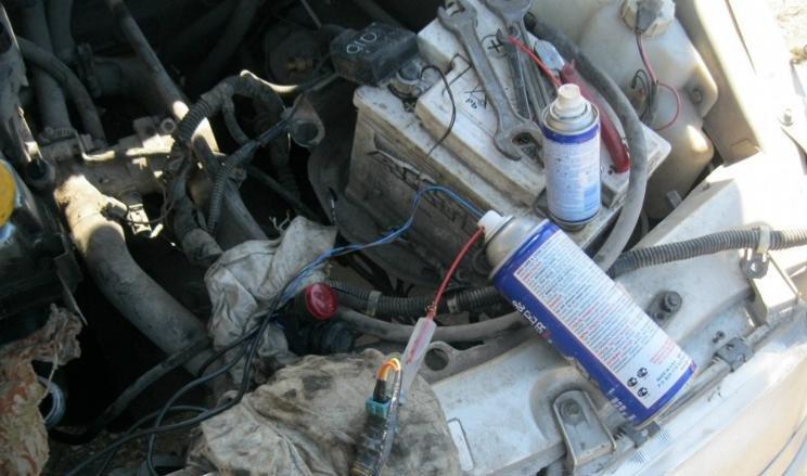 ВАЗ-2115 чистка форсунок
