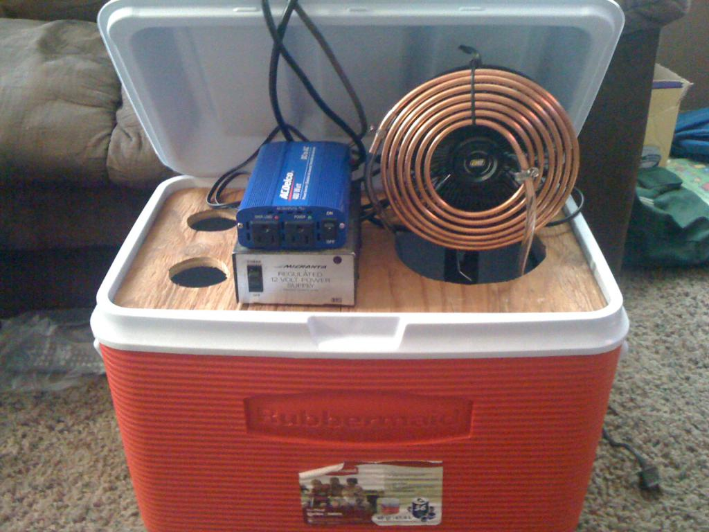 How to make air conditioning at home