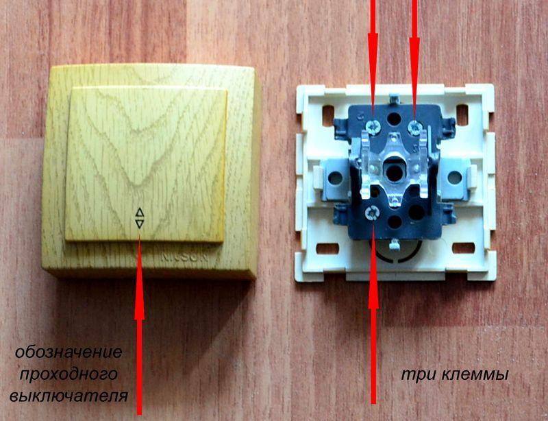 Feedthrough switch