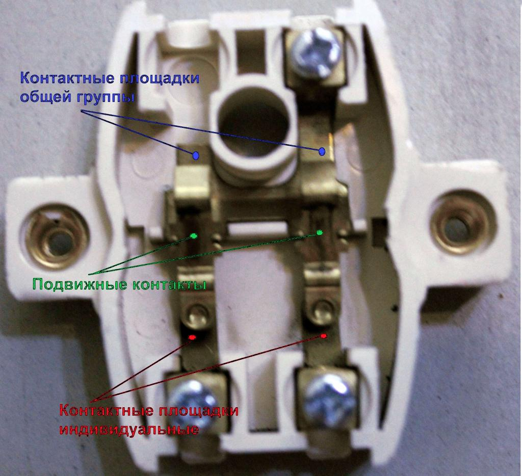How to make a normal two-key switch from a passage switch