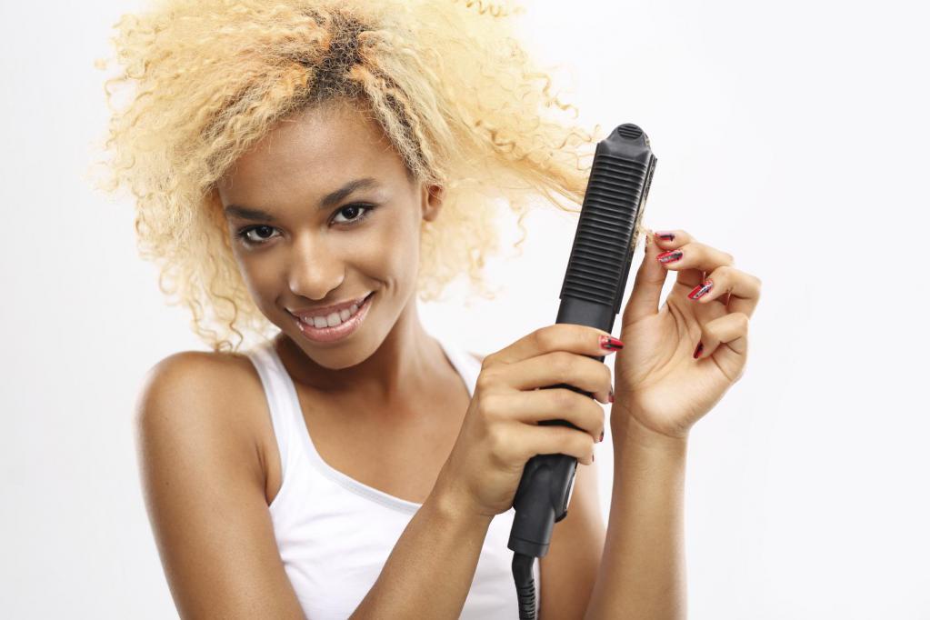 Выпрямить волосы навсегда в салоне