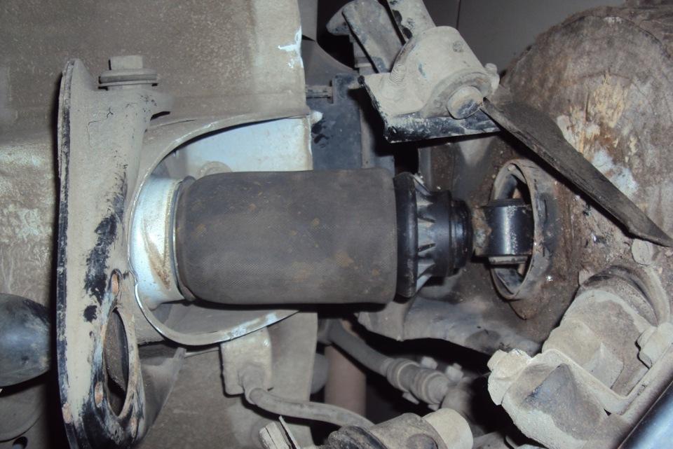 установка пневмоподвески на ваз