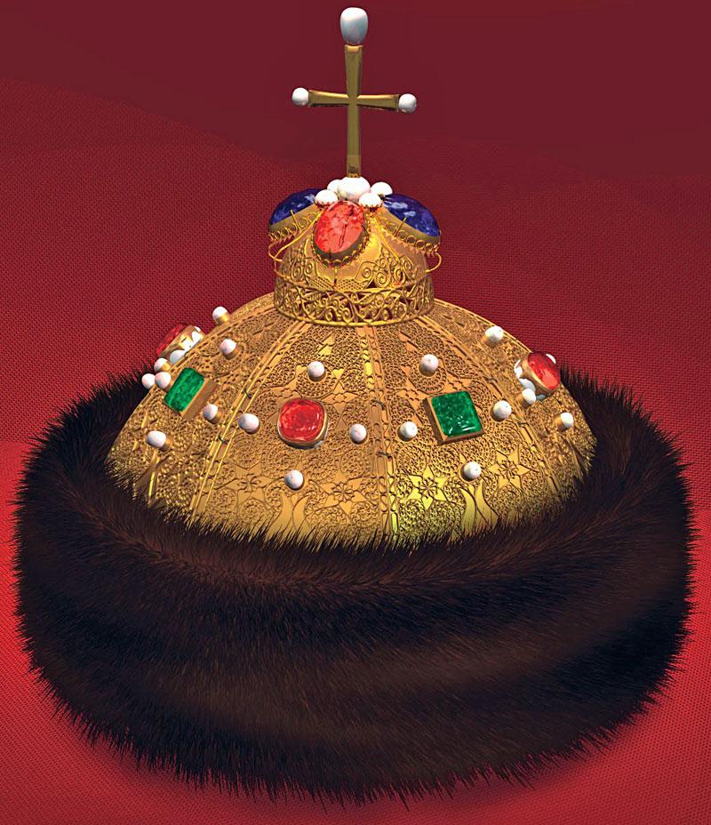 несколько картинки про шапку мономаха любой