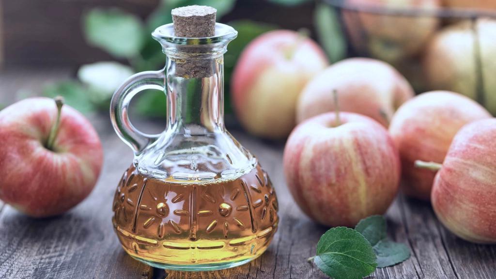 Удаление пигментных пятен яблочным уксусом