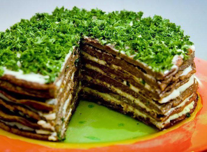 Рецепт классический печеночный торт