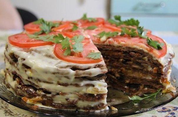 классический печеночный торт рецепт