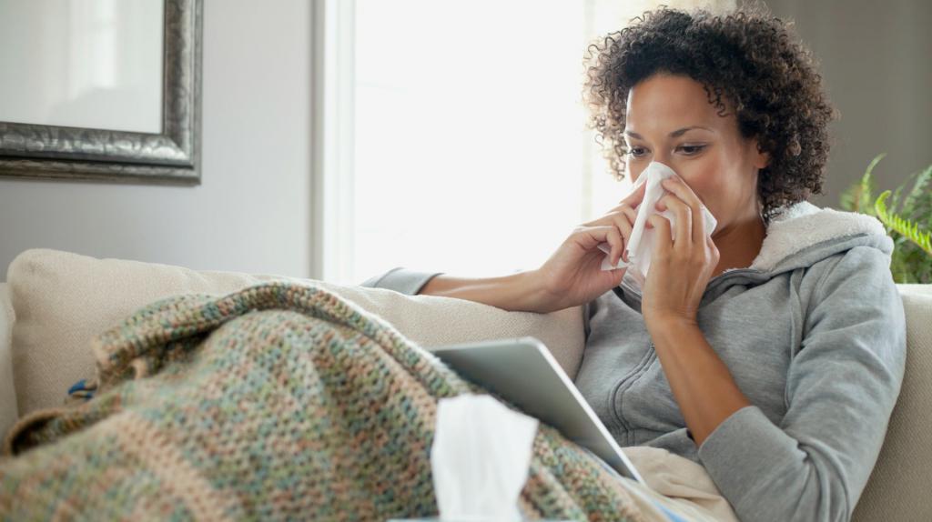 runny nose inhalation