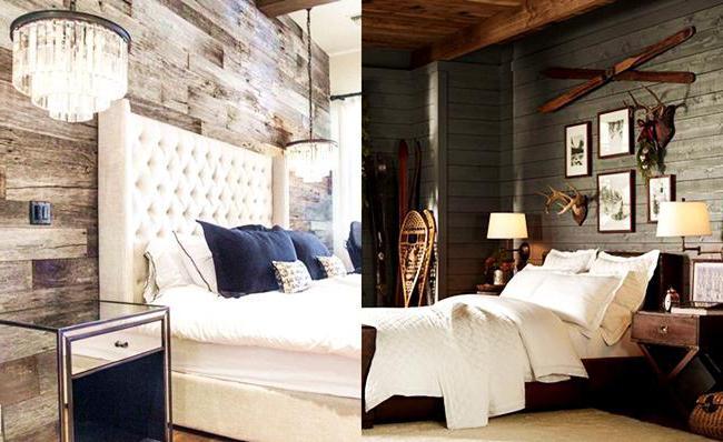 покраска стен в деревянном доме внутри дизайн