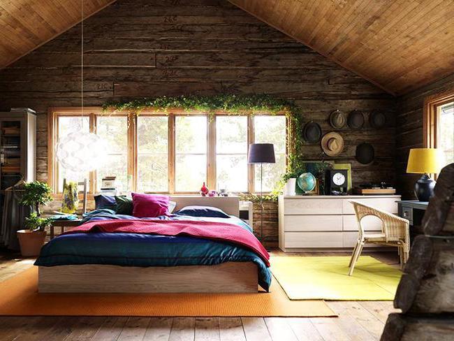 варианты покраски деревянного дома внутри фото