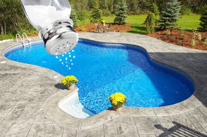 добавить соль в бассейн