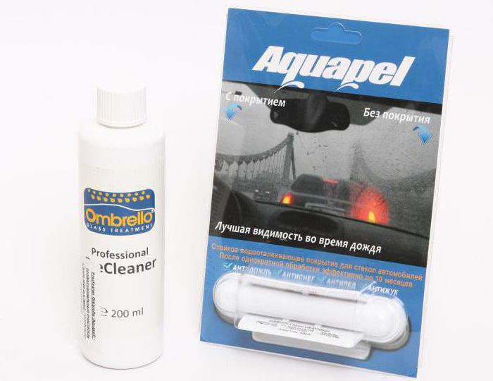 Aquapel: отзывы. Антидождь для стекол Aquapel: инструкция, цена