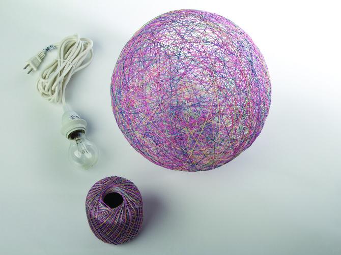 thread chandelier