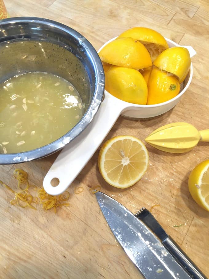 лимонный сироп на зиму