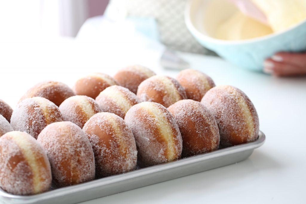 творожные пончики в духовке рецепт с фото