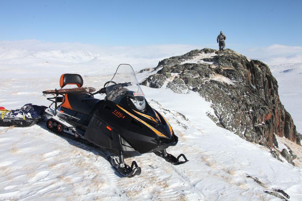 Снегоход Тайга от компании