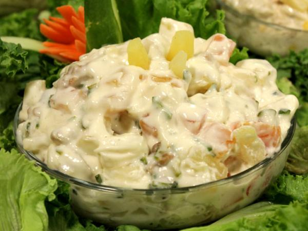 smoked chicken breast pineapple salad recipe