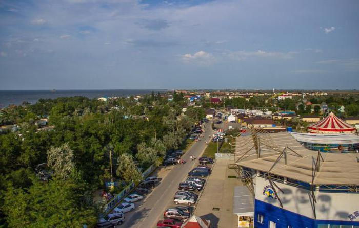Станица Голубицкая: отели у моря