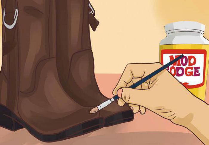 Как убрать царапины с кожаной обуви в домашних условиях?