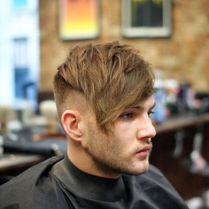как укладывать средние волосы мужчине