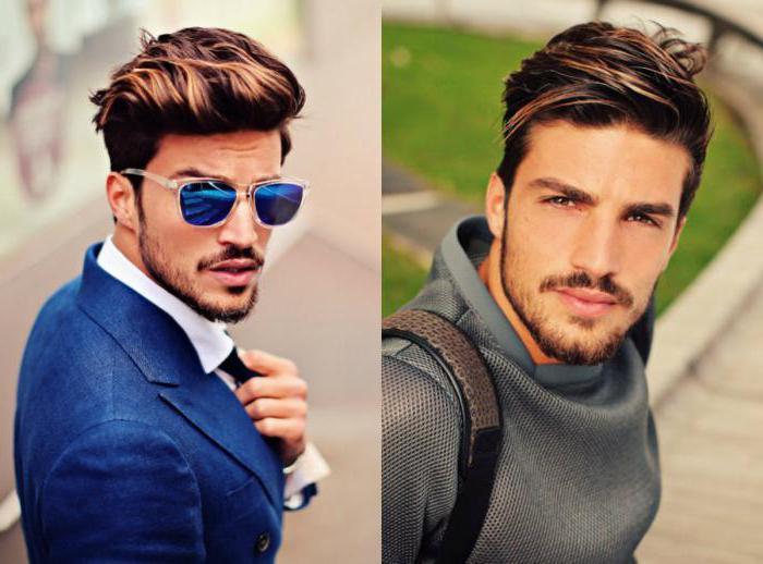 как красиво уложить волосы мужчине