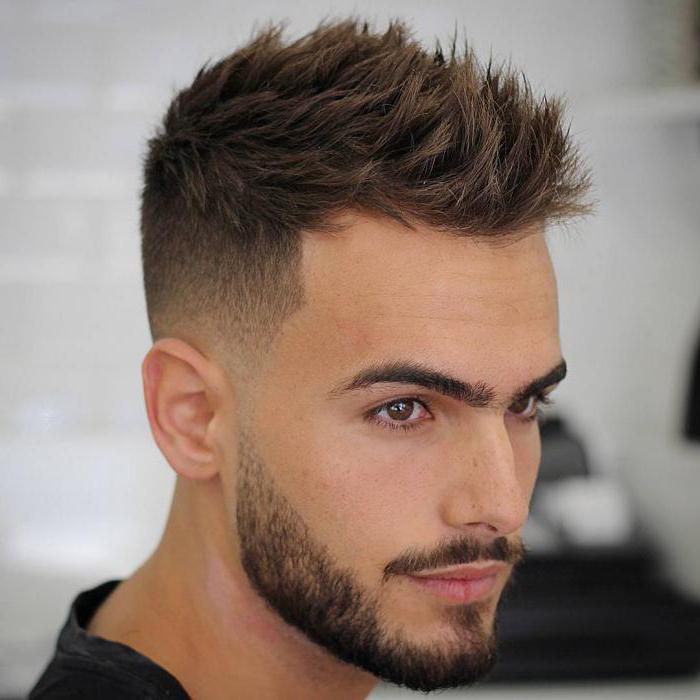 как укладывать волосы мужчине