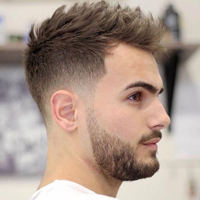 как уложить волосы феном мужчине
