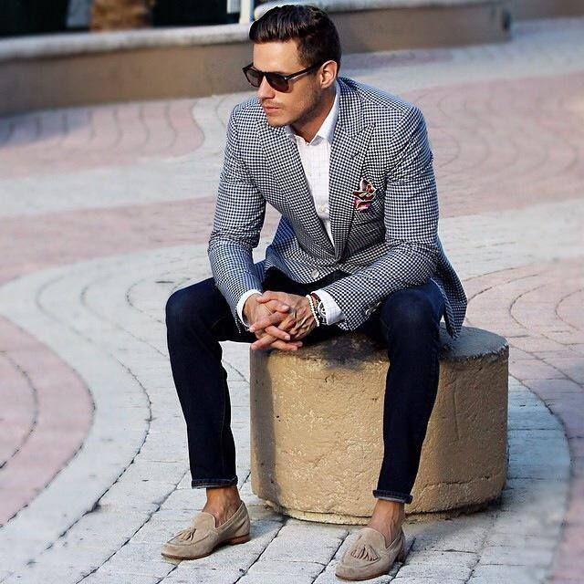 Men's loafers with what to wear?