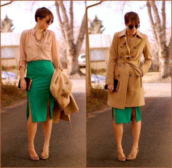 сочетание бежевого цвета с другими в одежде