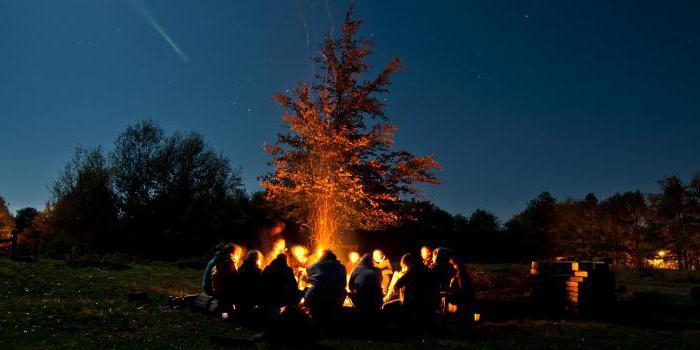 свечка на знакомство для лагеря