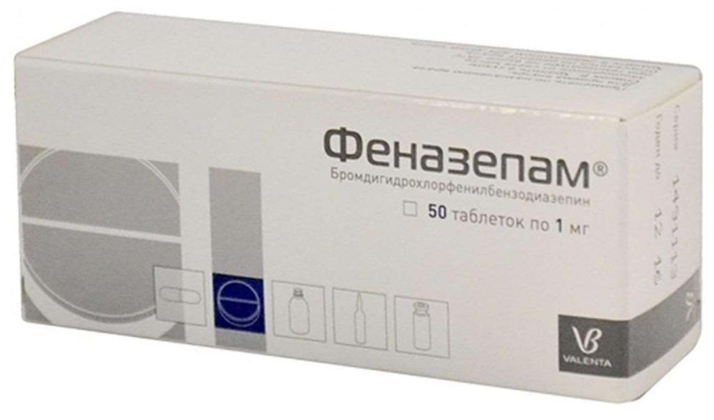Препарат Фенозепам