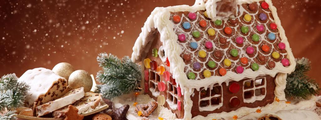 домик из сладостей