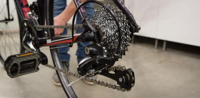 как снимать каретку с велосипеда