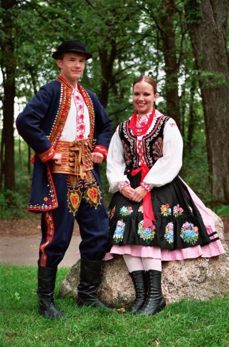 Польский национальный костюм описание