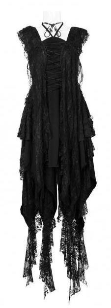черные платья в стиле рок