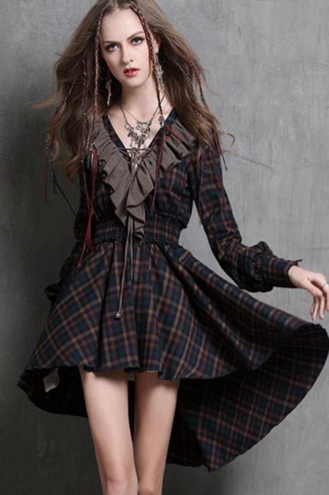 платье в стиле рок для девочки