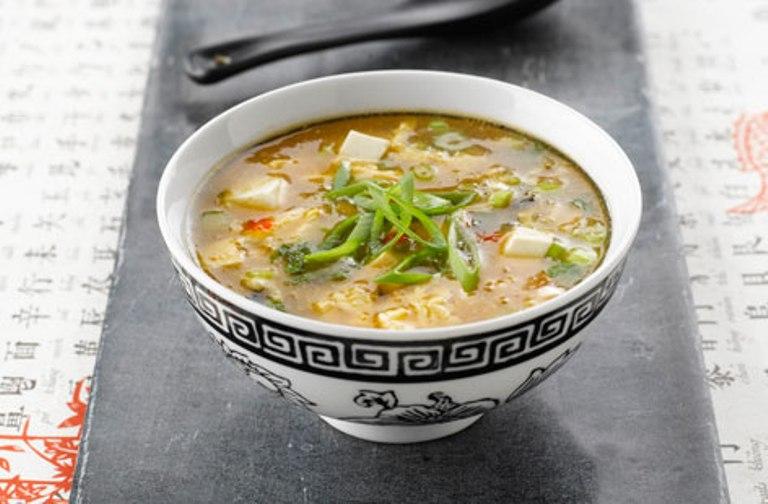 Суп со свежим тунцом
