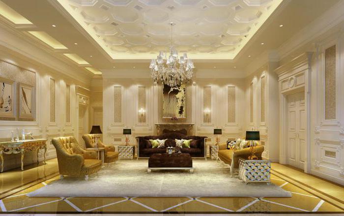 роскошный интерьер квартиры