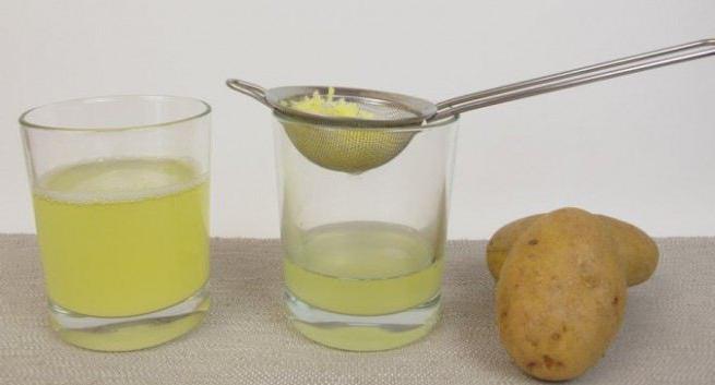 сок сырого картофеля польза и вред