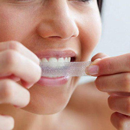 полоски для отбеливания зубов отзывы waiting