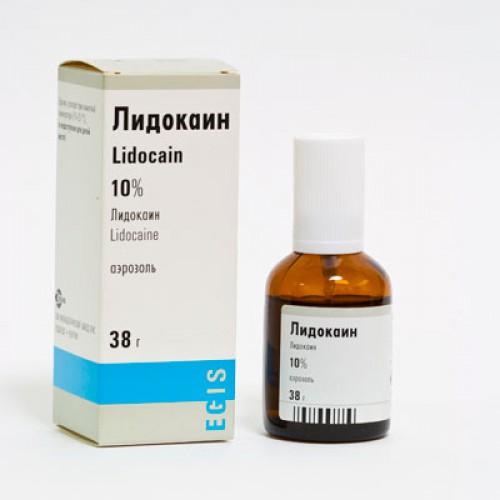 Лидокаин на полоывой член