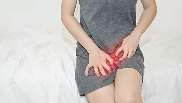 itching after menstruation treatment