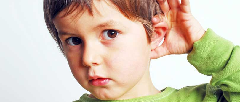how to test hearing in children