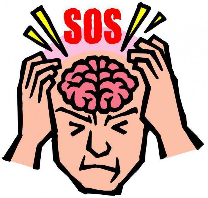 головная боль в лобной