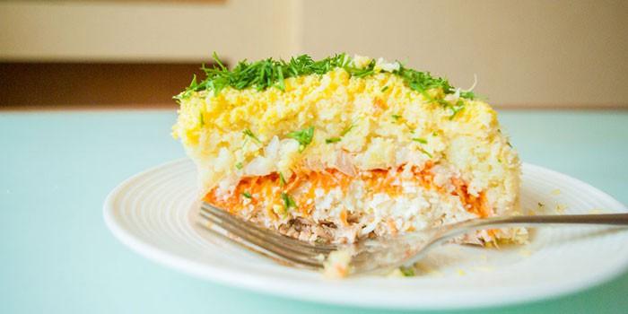 Как готовится салат мимоза рецепт