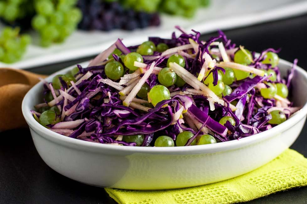могут салат из красной капусты рецепт с фото пошел