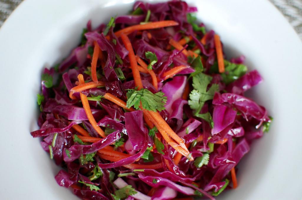 салат из красной капусты рецепт с фото зависимости структурных особенностей